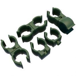 соединитель поворотный для трубок 10-12мм 10шт пластик