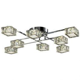 люстра потолочная светодиодная ESCADA Геометрия 8х8Вт LED хром