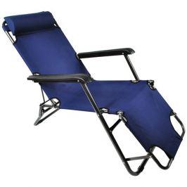 кресло-шезлонг 153х60х80см цвет в асс-те