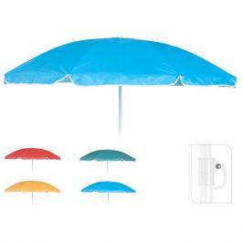 зонт пляжный h160см d152см нейлон в асс-те