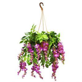 растение искусственное в горшке Ампельный цветок 60см в асс-те