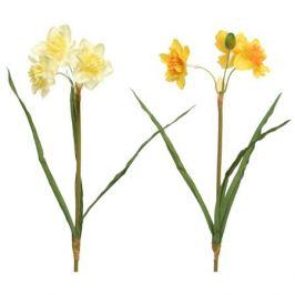 растение искусственное Нарцисс 40см цвет в асс-те