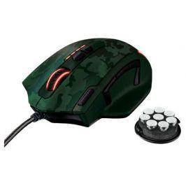 Мышь игровая GXT 155C Gaming Mouse, зеленый камуфляж