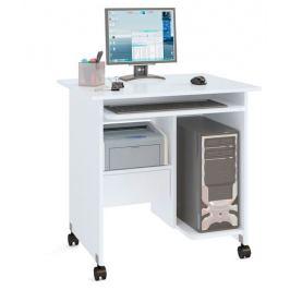 Стол компьютерный КСТ-10.1, белый