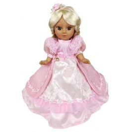 Кукла в розовом платье 34 см