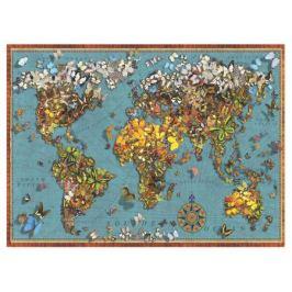 Пазл Карта мира Бабочки Anatolian 1000 деталей