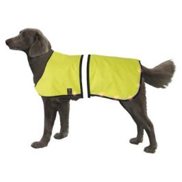 Попона Nobby для собак, светодиодная, желтая, 55-75/70-95 см,