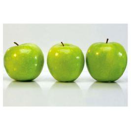 Кухонный фартук «Яблоки», 90х60х0.6 см