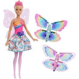 Кукла Фея с летающими крыльями Dreamtopia Barbie FRB08