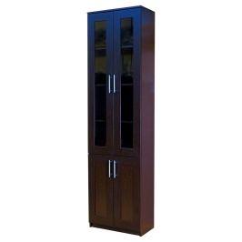 Книжный шкаф «Симфония-2», 60х30х220, Венге
