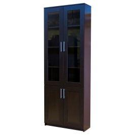 Книжный шкаф «Симфония-2», 80х30х220, Венге