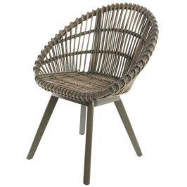 Кресло декоративное «Майорка», серое, 66х65х77 см
