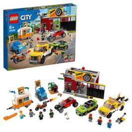 Конструктор LEGO City Nitro Wheels 60258 Тюнинг-мастерская