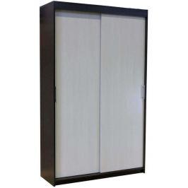 Шкаф-купе «Уют», 120х45х200 см, венге/бодега белая