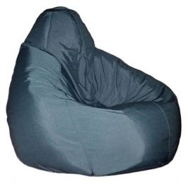 Кресло-мешок «Стандарт L», темно-серый, 80х110