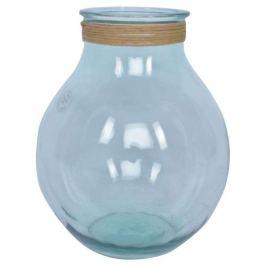 Стеклянная ваза, прозрачная