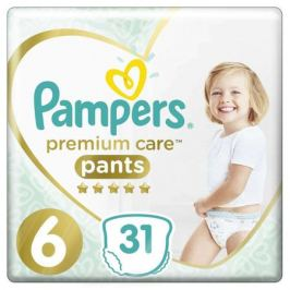Трусики Pampers Premium Care Pants 6 (15+ кг) 31 шт