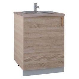 Шкаф напольный с мойкой «Тоскана», 60 см
