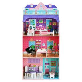 Деревянный кукольный дом 132см ONE TWO FUN