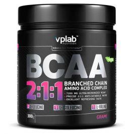 Аминокислотный комплекс VPlab BCAA 2:1:1, виноград, 300г