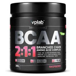 Аминокислотный комплекс VPlab BCAA 2:1:1, малина, 300г