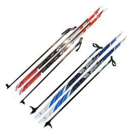 Лыжи с NN креплением «Соболь», 185 см + палки