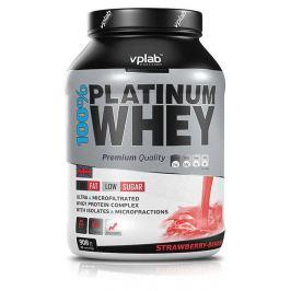 Протеин VPLAB 100% Platinum Whey, клубника/банан, 908г