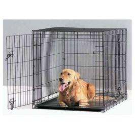 Переноска-клетка Savic Dog Cottage для собак, черная, 77х84х118 см