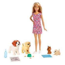 Барби и щенки Barbie FXH08