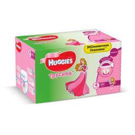 Трусики Huggies 4 для девочек (9-14кг), 104 шт