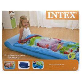 Матрас надувной детский Intex, с покрывалом на молнии, 64х152х20см