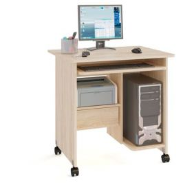 Стол компьютерный КСТ-10.1, дуб сонома