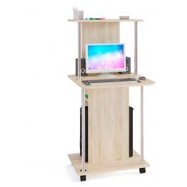 Стол компьютерный КСТ-12, дуб сонома