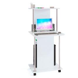Стол компьютерный КСТ-12, белый