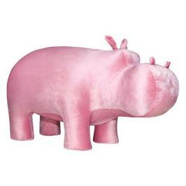 Пуф «Бегемот», розовый
