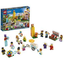 Конструктор LEGO City 60234 Комплект минифигурок Весёлая ярмарка