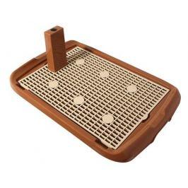 Туалет Triol для собак, со столбиком, 60х40х4 см