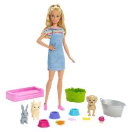 Набор игровой Barbie c любимыми питомцами