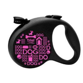 Поводок-рулетка Triol by Flexi Joy L для собак, 5 м до 50 кг