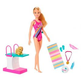 Кукла Барби Чемпион по плаванию Barbie GHK23