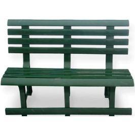 Уценка - Скамейка пластиковая «Каждый день», зеленая