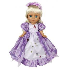 Кукла в фиолетовом платье 34 см