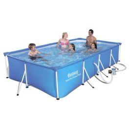 Каркасный бассейн 400х211х81 см, 5700 л с фильтр-насосом