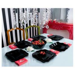 Сервиз обеденный Luminarc Authentic Black, 19 предметов, черный