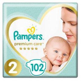 Подгузники Pampers Premium Care 2 (4-8 кг), 2 размер, 102 шт