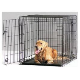 Клетка-переноска Savic Dog Cottage для собак, черная, 61 см