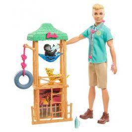 Кукла Кен Ветеринар с аксессуарами Barbie GJM32