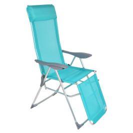 Кресло-шезлонг раскладное Garden Star, голубое, 41х45 см