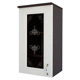Шкаф навесной с витражом «Беларусь», 40 см