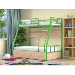 Двухъярусная кровать Радуга (90х190/120х190)